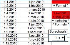 Datum mit eigenem Monatskürzel