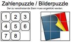 Zahlen-/Bilderpuzzle
