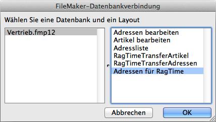 Hinweise zu FileTime X und FileMaker 12