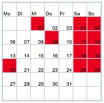 Kleine Anleitung zu Kalendern